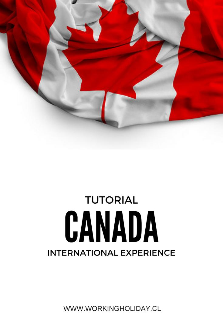 Tutorial IEC Iniciar postulación Canadá