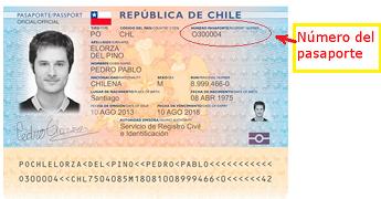 Diferencia Cero y Letra O - Número pasaporte