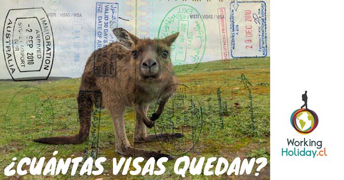 Australia Ciclo 2017/2018: ¿Cuántas visas quedan disponibles?