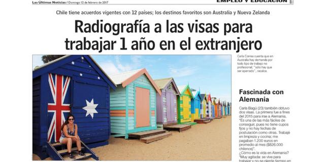 Radiografía visas para trabajar en el extranjero