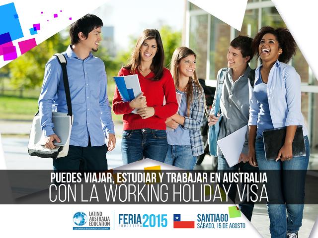 Charla Feria LAE – Santiago – 15/Ago/2015