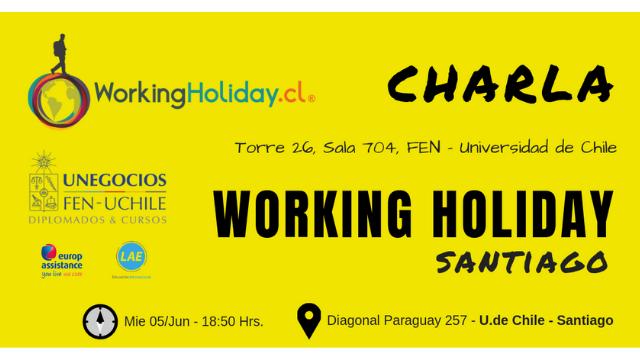 Charla Working Holiday FEN 05 Junio 2019