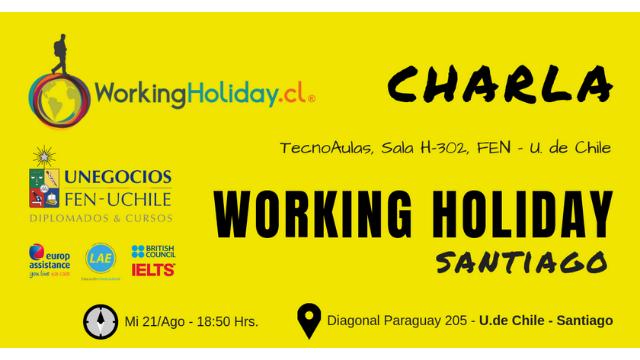 Charla Working Holiday – Irlanda – Javier Ayala