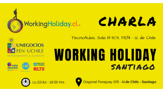 Charla Working Holiday – Y Así Son Mis Viajes