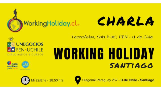 Charla Working Holiday Australia – Claudia Iglesias