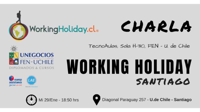 Charla Working Holiday Visas – Camila Lazo